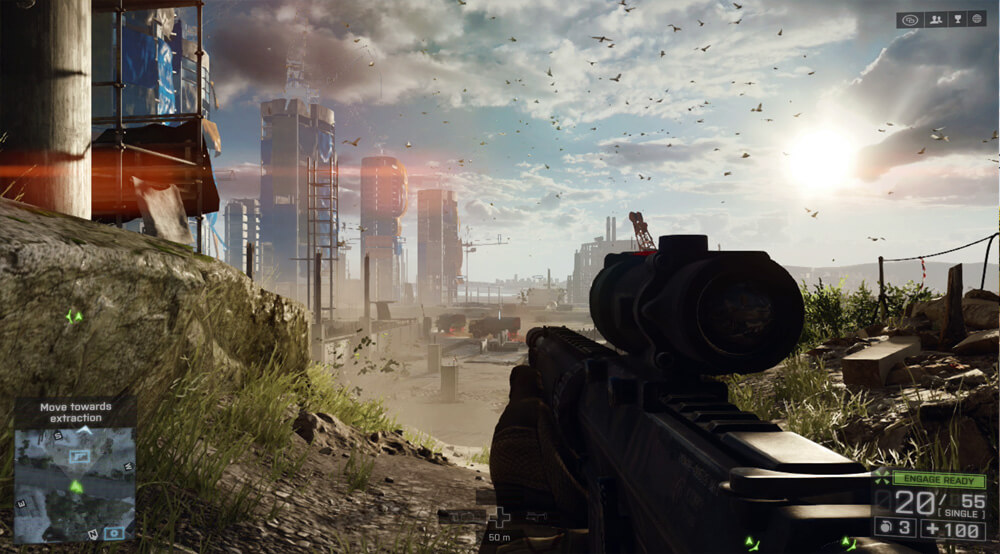 Xbox 360 Screenshot Battlefield 4