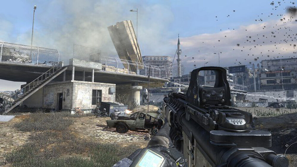 Xbox 360 Screenshot Call of Duty: Modern Warfare 2