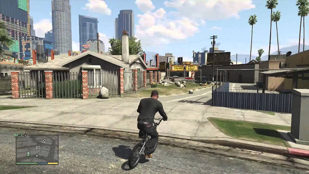 Xbox 360 Screenshot Grand Theft Auto V