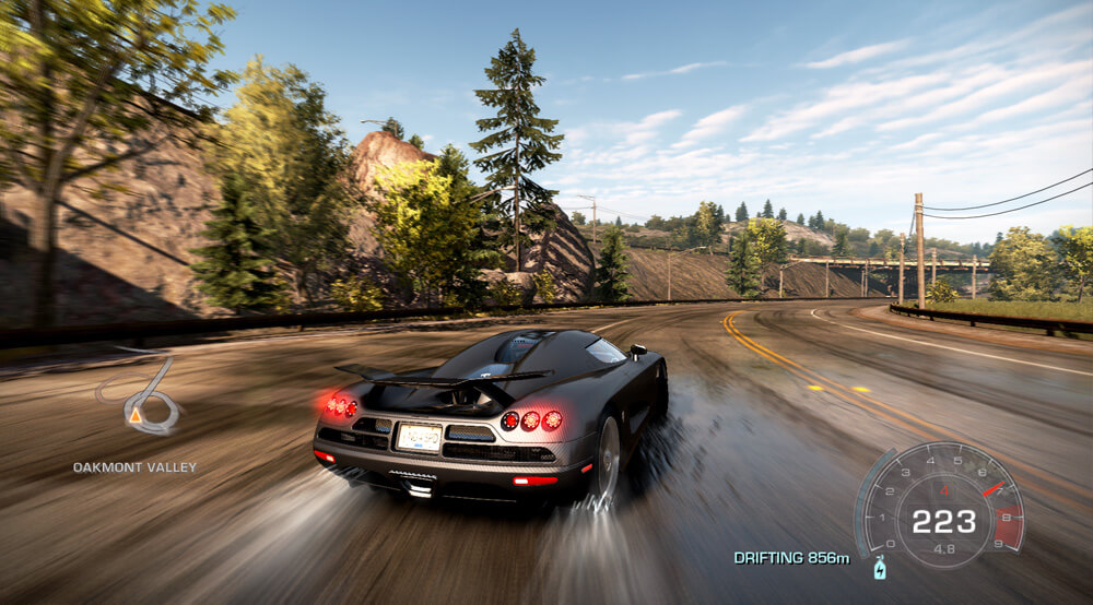 Xbox 360 Screenshot Need for Speed: Hot Pursuit