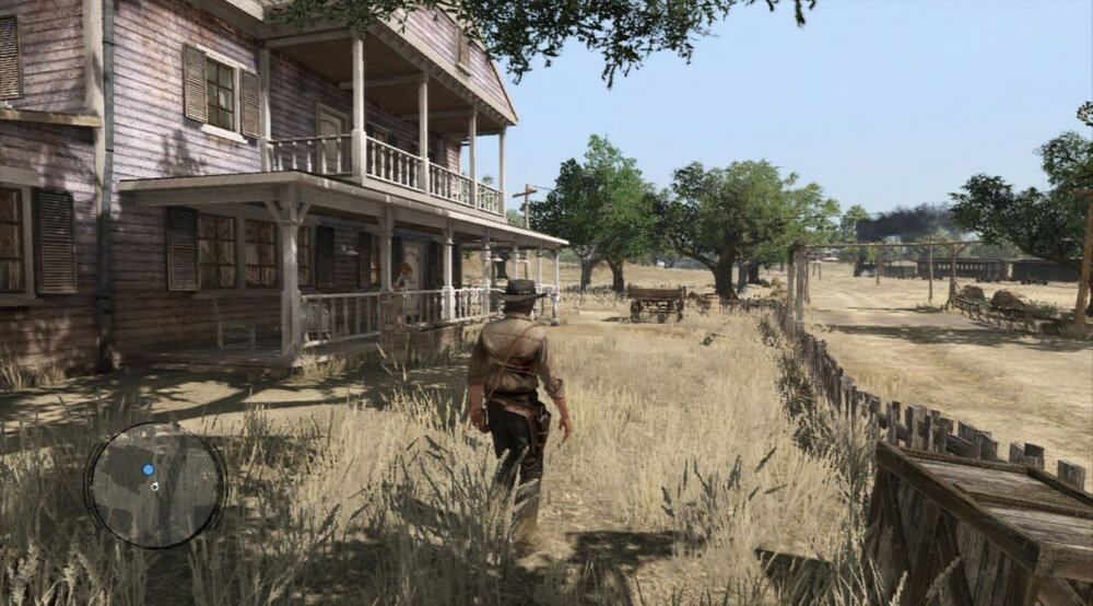 Xbox 360 Screenshot Red Dead Redemption