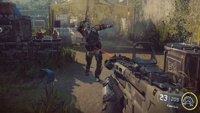 Xbox One Screenshot Call of Duty: Black Ops III