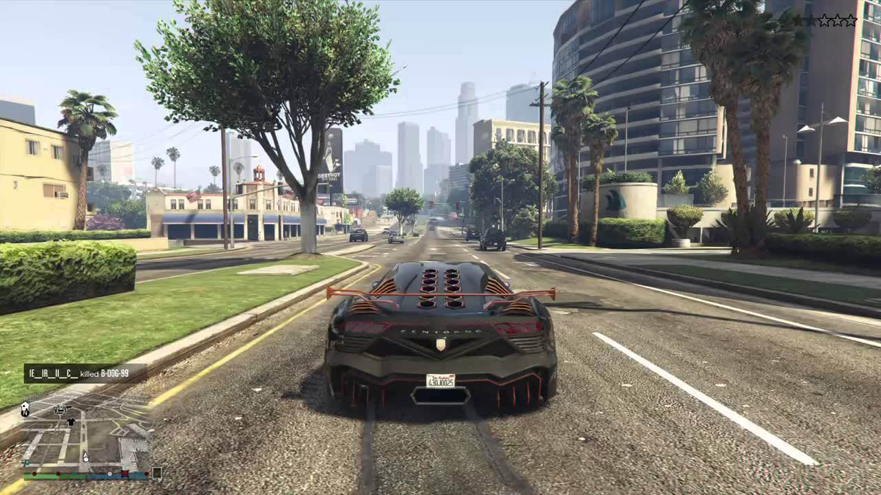 Xbox One Screenshot Grand Theft Auto V