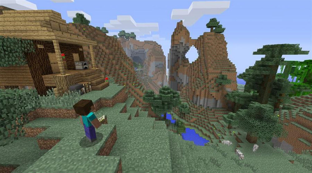 Xbox One Screenshot Minecraft: Xbox One Edition