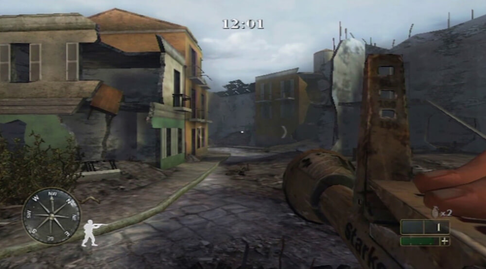 Xbox Original Screenshot Call of Duty 2: Big Red One