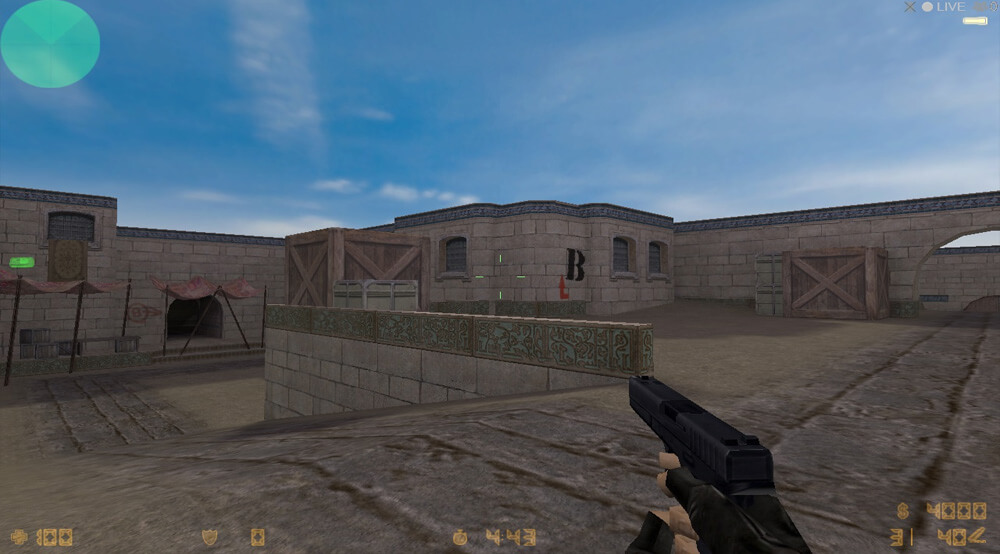 Xbox Original Screenshot Counter-Strike