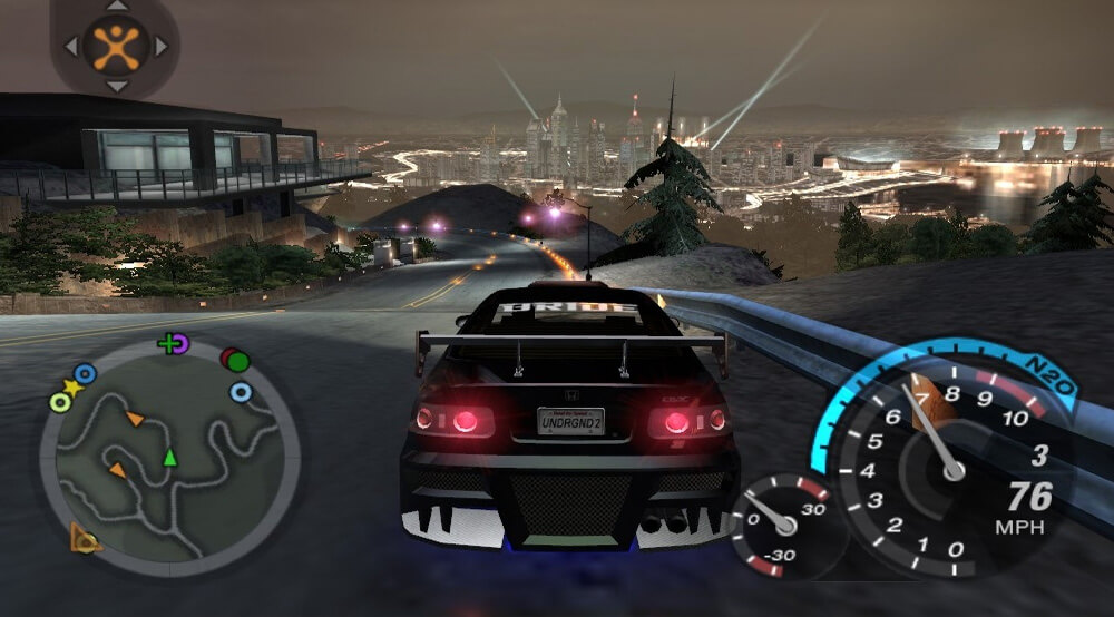 Xbox Original Screenshot Need for Speed: Underground 2