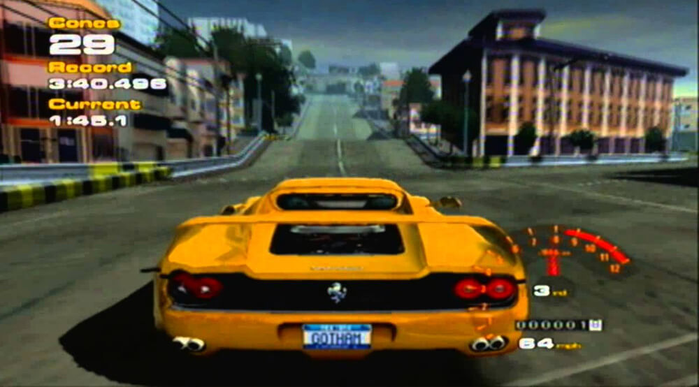 Xbox Original Screenshot Project Gotham Racing